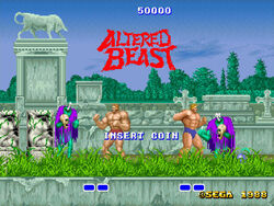 Altered Beast - Past Zombies