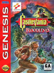 Castlevania - Bloodlines - (NA) - 01