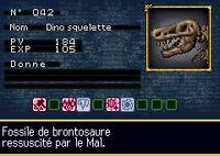 Skeleton Rex French Name