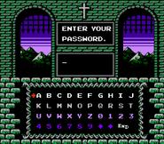 Simon's Quest - Name Entry Screen - 01