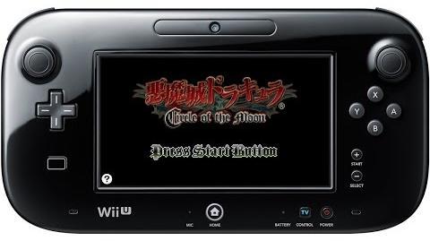 悪魔城ドラキュラ サークル オブ ザ ムーン プレイ映像 Wii U