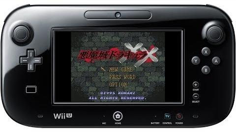 悪魔城ドラキュラXX プレイ映像 Wii U