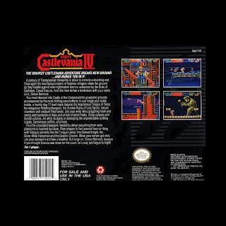 Caja del videojuego (contraportada).