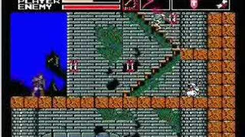 Akumajou Dracula Vampire Killer MSX2(stage3)
