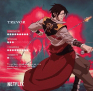 Castlevania Netflix Series Trevor Belmont Stats