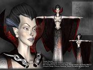 Female Dracula - CV Resurrection artwork