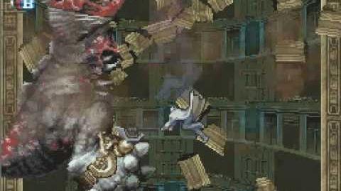 Castlevania DoS - Boss Fight - Gergoth