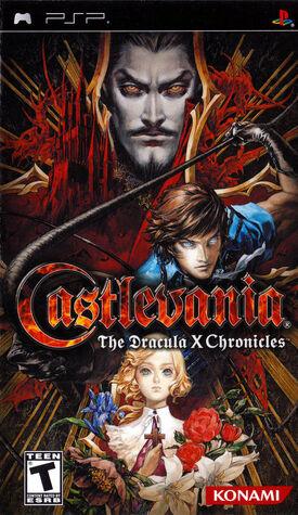 Castlevania The Dracula X Chronicles - cubierta eeuu