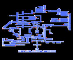 Cursed Prison map
