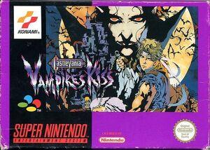 Castlevania Vampire Kiss - cubierta europa