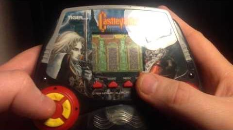 Tiger Electronic Handhelds Castlevania Symphony of the Nigh