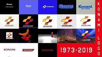 Konami Logo History (1973-2019)