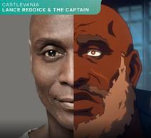 Lance reddick the captain