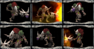 Lizard Shaman COD Unused Portraits
