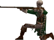 Skeleton Gunman DXC