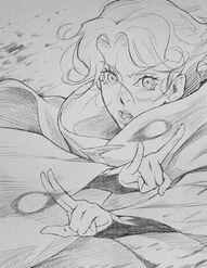 Castlevania sypha sketch 01 by poojipoo-dbow8w6