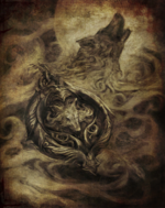 White Wolf Medallion Book of Dracul