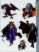 Dracula Sketches