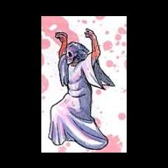 Ilustración de <b>Cruela</b> en el manual japonés de <i><a href=