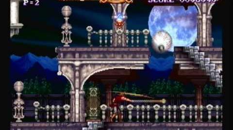 (First Look) Stage 1 - Castlevania ReBirth ドラキュラ伝説 ReBirth