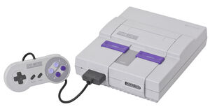 Super Nintendo Entertainment System - 01