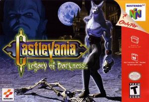 Castlevania Legacy of Darkness - cubierta eeuu