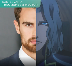 Theo james hector