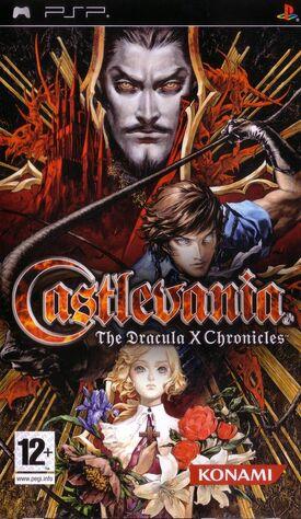 Castlevania The Dracula X Chronicles - cubierta europa