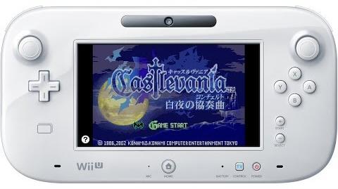 Castlevania 白夜の協奏曲 プレイ映像 Wii U