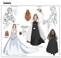Lenore rough concept designs