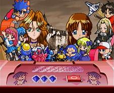 Mitsumete Knight R - Konami Cameos