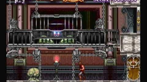(First Look) Stage 4-1 - Castlevania ReBirth ドラキュラ伝説 ReBirth