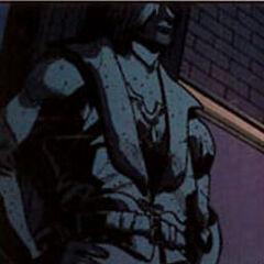 Estatua de Leon en el cómic <a href=