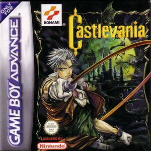 Castlevania Circle of the Moon - cubierta europa