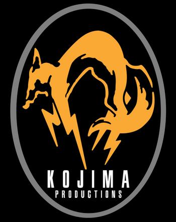 Logo under Konami