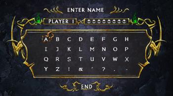 Dracula X Chronicles - Name Entry Screen - 03