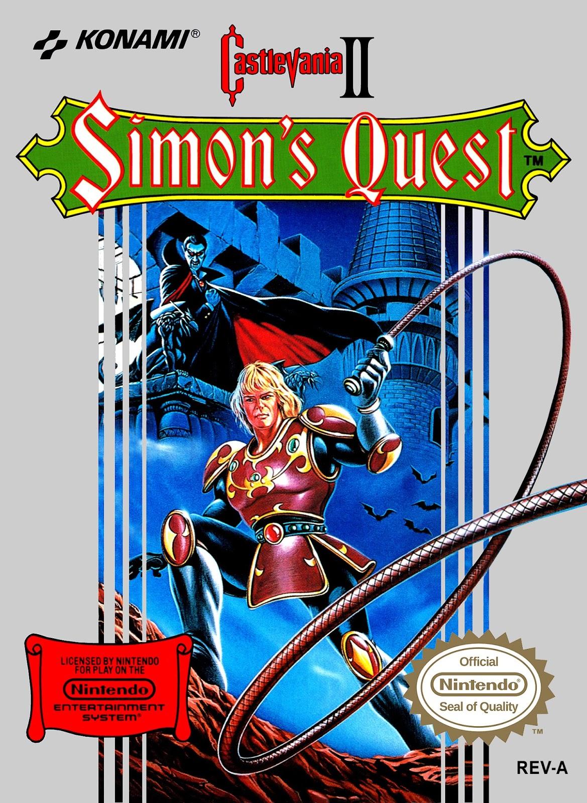 Castlevania II: Simon's Quest   Castlevania Wiki   FANDOM powered by