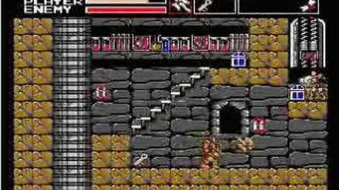 Akumajou Dracula Vampire Killer MSX2(stage5)