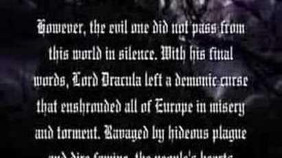 Castlevania: Curse of Darkness/Script