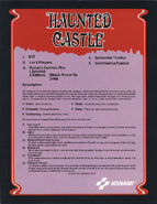 Haunted Castle ad rear