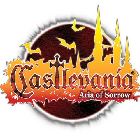 Logotipo occidental, como <i>Castlevania: Aria of Sorrow</i>.