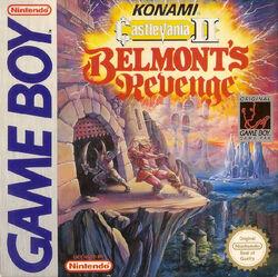 Castlevania II Belmont's Revenge - cubierta europa