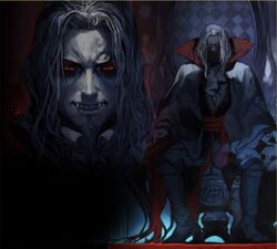 Castlevania - Order of Eclesia Dracula throne
