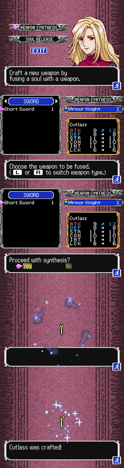 DOS-WEAPON SYNTHESIS