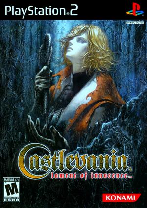 Castlevania Lament Of Innocence Caratula EEUU