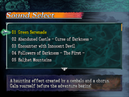 Curse of Darkness Sound Select