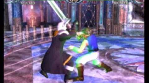 Soulcalibur III - Alucard vs. Richter Belmont