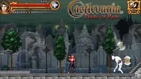 Castlevania Tears of Pain (Intro - Menu - Gameplay)