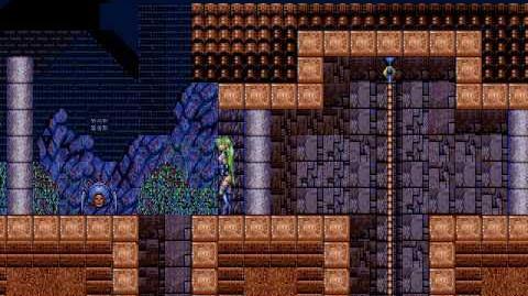 Rusty (Castlevania Clone) Level 1 Town (No Damage)