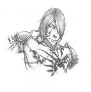 Castlevania COD Isaac sketch by Zanikal